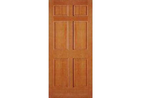 Douglas Fir Exterior Doors Ab2130 Vertical Grain Douglas Fir Exterior 6 Panel Door 1 3 4 Quot