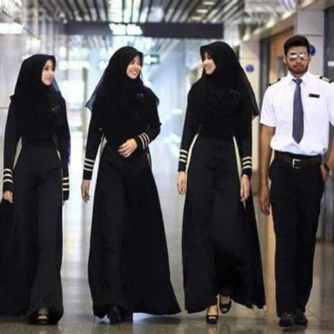 Hajj Syari Maxy air hostess indonesia fashion