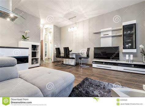 fotos en blanco y negro modernas sala de estar moderna en estilo blanco y negro imagen de
