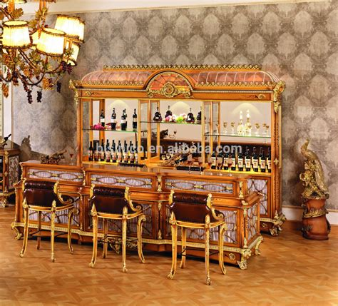 Luxury French Style Baroque Home Bar Furniture/European ... Q Bubble Letter