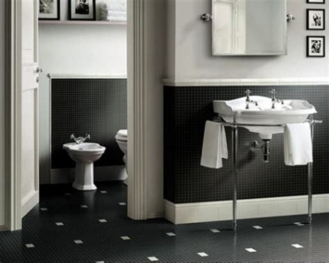 Bathroom Tiles Black And White Ideas by Bathroom Black And White Ceramic Tile Home Design Ideas