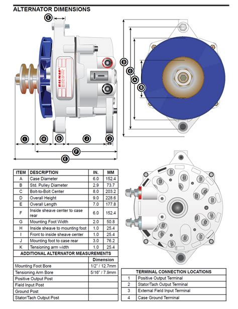 yanmar alternator wiring diagram balmar 94ly 165 12 ig large alternator for yanmar 6ly engines