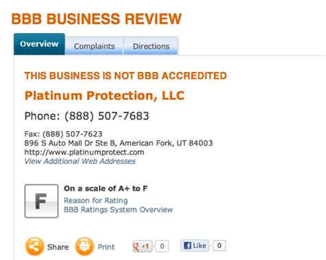 platinum protection reviews real customer reviews