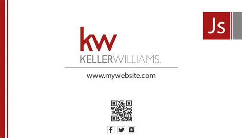 Template For The Back Of The Card Keller Williams by Keller Williams Business Cards Rsd Kw 104 Realty Studio