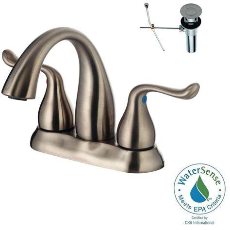 design house bathroom faucets yosemite home decor 4 in centerset 2 handle bathroom