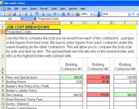 price comparison checklist construction checklist comparison chart ask the builder