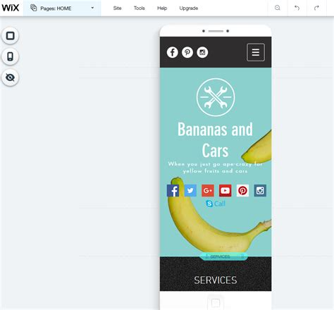 wix mobile how to make a wix website besthosting