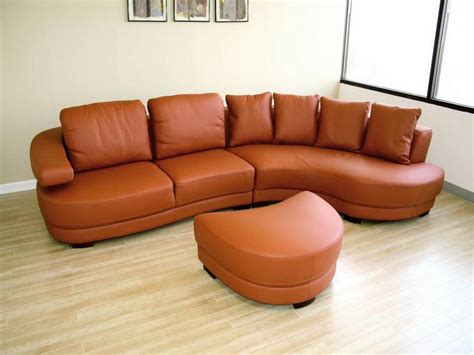 Orange Leather Sofa Set Living Room Sets Leather Orange Sofa Design Your Home