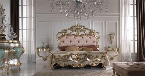 Gold Leaf Bedroom Furniture Gold And Silver Gold Leaf Bedroom Furniture Top And Best Italian Classic Furniture From