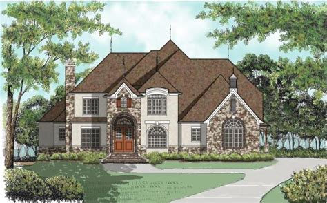 house plans with high pitched roofs 4 bedroom 4 bath european house plan alp 08t1