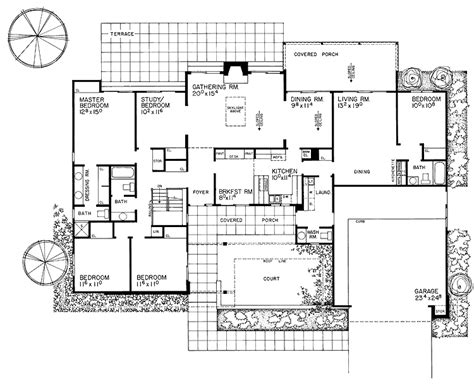 in suite floor plans house plans and design modern house plans with in
