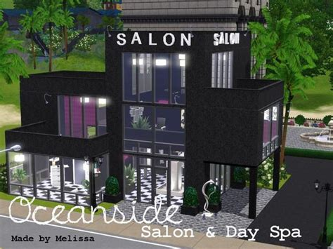sims 4 cc beauty salon mlssmlny s oceanside salon day spa
