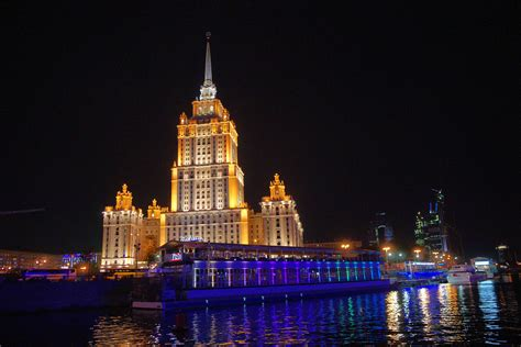 City Light Capital by Moscow With Lights Ouroborostravel