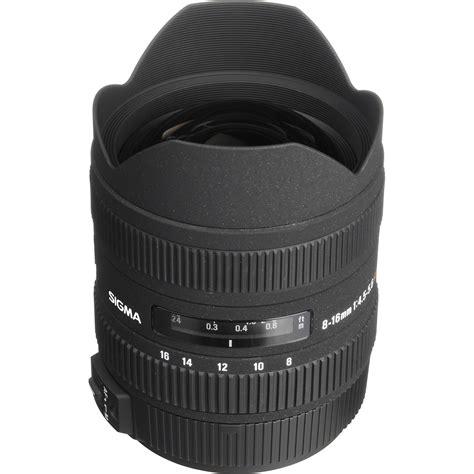 Sigma 8 16mm F45 56 Dc Hsm For Nikon sigma 8 16mm f 4 5 5 6 dc hsm ultra wide zoom lens 203205 b h