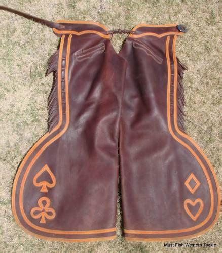 Handmade Chaps - custom handmade oliver saddle shop step in bell chaps