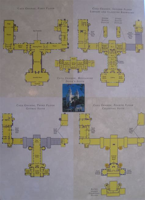 hearst castle floor plan mansions floor plans to hearst castle