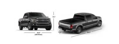 2017 f 150 dimensions ford release