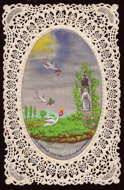Osi By Heaven Lights holy card heaven