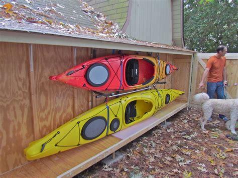 kayak storage kayaking maryland
