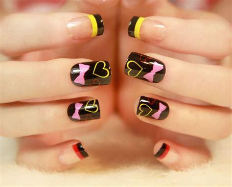 imagenes de uñas de acrilico para niñas 17 mejores ideas sobre u 241 as postizas cortas en pinterest
