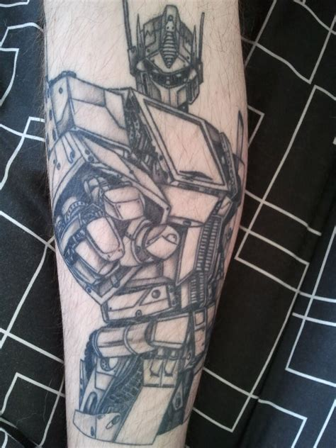 optimus prime tattoo optimus prime healed by budgie kun on deviantart