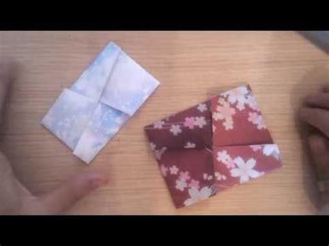 tutorial origami youtube tutorial busta giapponese origami semplicissima easy