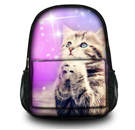 Cat And Mouse Backpack 1 new arrival cat fasion canvas school hiking outdoor