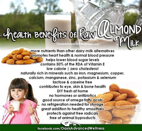 Almond Rawalmond Milk showme nan benefits of almond milk