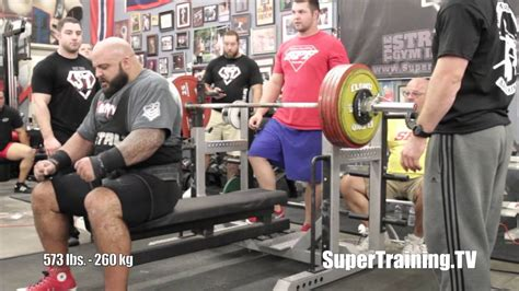 dan green bench press brandon lilly comments on his 2 204 raw total backyard