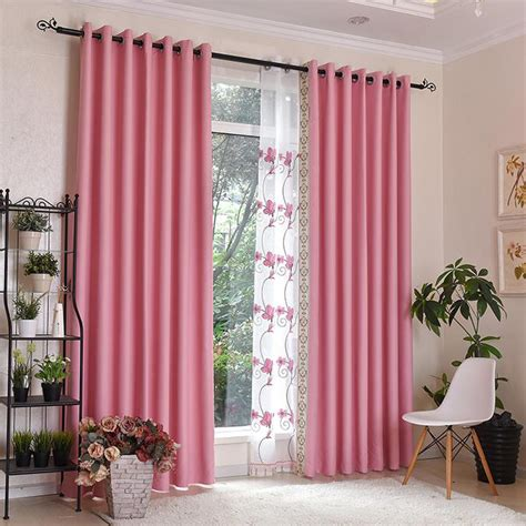 pink patterned curtains pink patterned print polyester insulated bedroom curtains