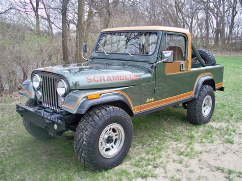 jeep scrambler for sale 1984 jeep cj8 scrambler loaded laredo 4 2l auto for sale
