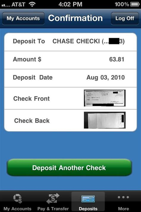 iphone j d review app access your account and even deposit checks on your iphone iphone j d