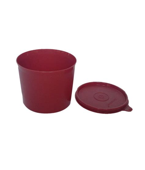 Tupperware Small Crispy Storer 2pcs buy tupperware plastic store all canister 2 pcs lowest prices snapdeal