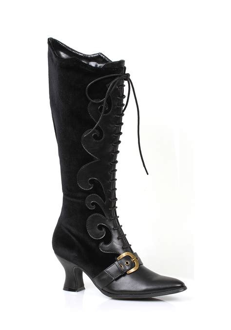 black womans boots s black witch boots