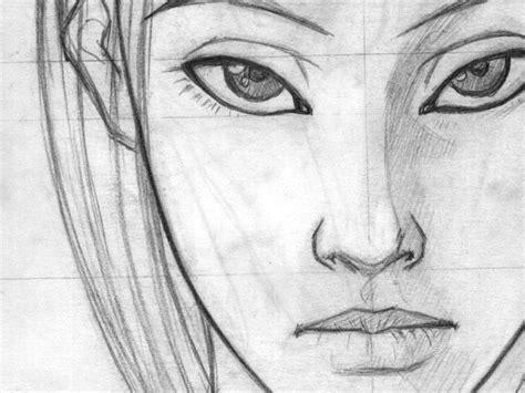 imagenes para dibujar rostros de personas bocetos cara imagui