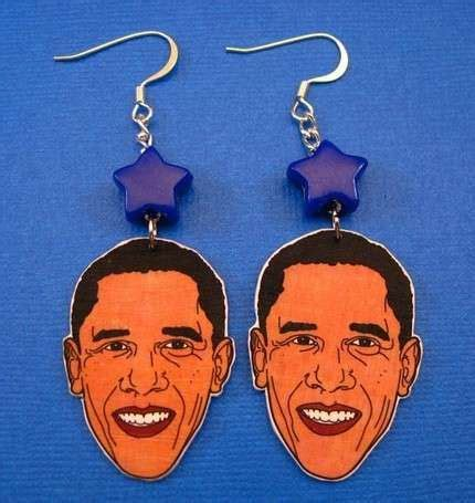 obama crafts obama earrings eco skirts more