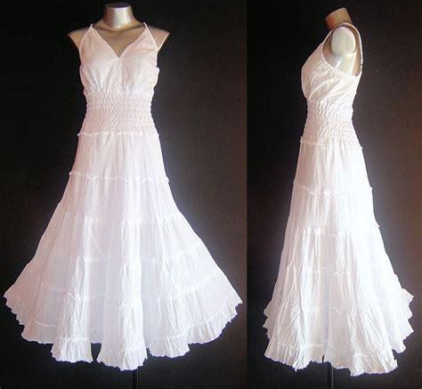 Sundress Wedding Dress by New White Dress Plus Size 20 22 24 Maxi