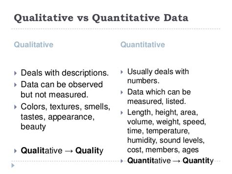 exle of qualitative data powerpoint presentation sle information management fo