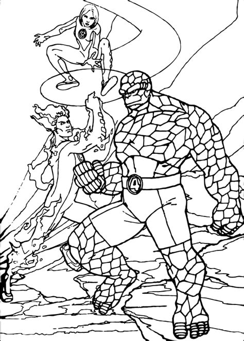By Dr Fredi Setyawan Colour Protection Shoo fantastic four coloring pages hellokids