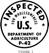Usda Government Inspected Essay by 9 Cfr 381 96 Wording And Form Of The Official Inspection Legend Us Lii