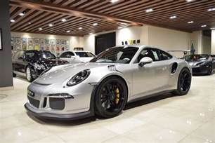 Porsche Pictures For Sale Sleek Silver 2016 Porsche 911 Gt3 Rs For Sale Gtspirit