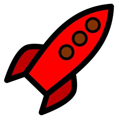 clipart rocket clipart rocket red