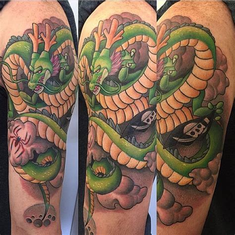 shenron tattoo on point ideas featuring shenron shenlong