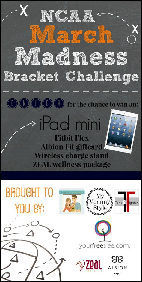 March Madness Bracket Sweepstakes - march madness bracket challenge and giveaway