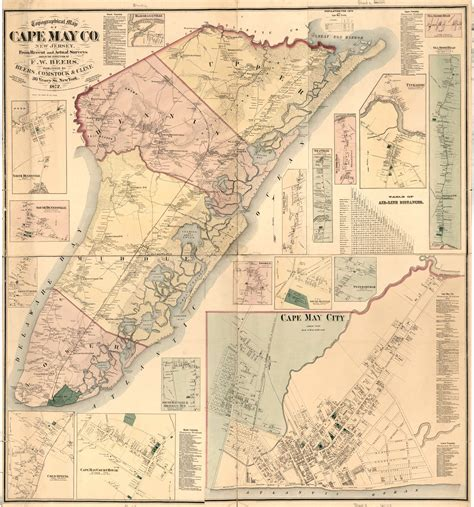 Cape May County Property Tax Records 100 County Map Of Nj Map Of Nj Map Of Nj Counties