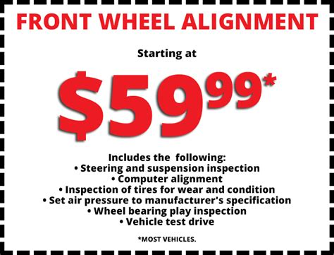 tire alignment coupon near me couponcu page