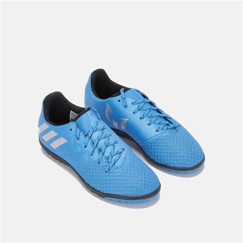football shoes store shop blue adidas messi 16 3 turf football shoe for