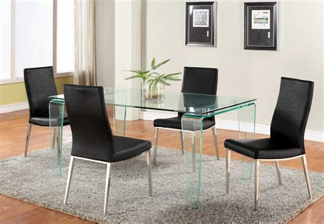 Glass Kitchen Table And Chair Sets Glass Dining Room Table And Chair Sets Chairs Seating