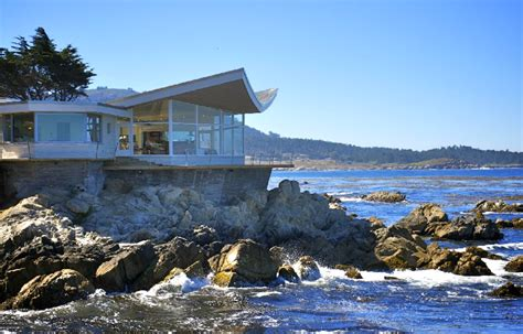 Modern Beach House Plans by The Butterfly House Once Upon A Time Tales From Carmel