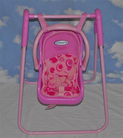 baby doll swing toy sold awaiting feedback graco tollytots baby doll swing